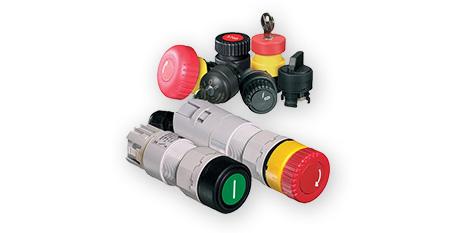 Botoneras y Llaves Selectoras para montaje en panel serie 8003 – STAHL