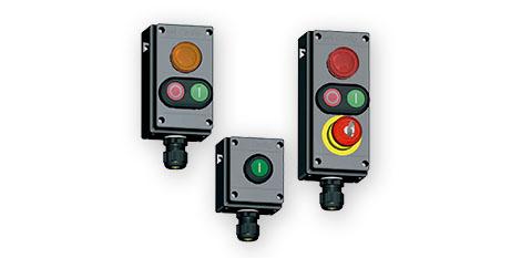 Estaciones de Control y Mando – Serie 8040 – Versiones Estándar  – STAHL