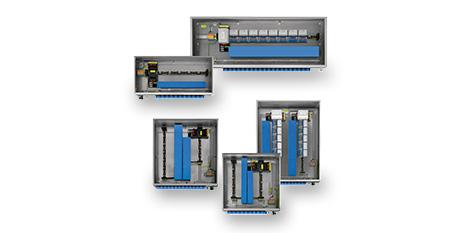 Cajas para sistemas de E/S remotas IS1+, para Zona 1 y 2 – serie 8150 – STAHL