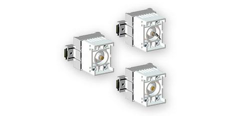 Componenetes varios: Interruptores de acción rápida, Potenciómetros, Relés, Temporizadores, Diodos, Fusibles y Resistencias – Serie 8208 – STAHL