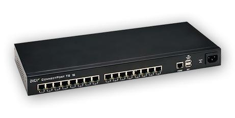 ConnectPort® TS 8/16 DIGI – servidores serie