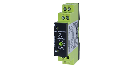 E1PF – Monitor de Secuencia y Asimetría de Fases