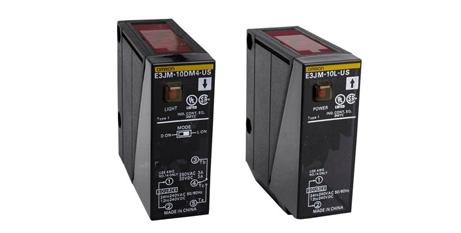 E3JM – Sensores fotoeléctricos de alimentación universal Omron