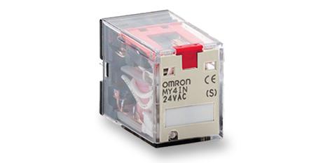 MY – Relés auxiliares de 2 y 4 inversores – Omron