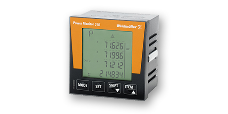 POWER MONITOR – Analizador de red trifásico Weidmüller