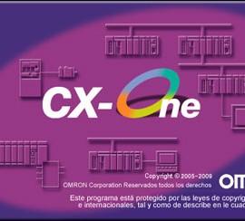 CX-ONE – Software de programación para PLC – Omron