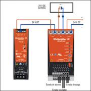 Modulo UPS  – Alimentación ininterrumpida en 24 VDC