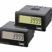 H7ER OMRON – Mini Tacómetro totalizador autoalimentado para montaje en panel