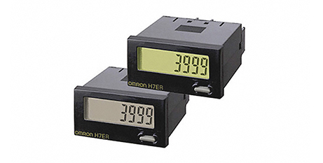 H7ER OMRON – Mini Tacómetro totalizador autoalimentado – montaje en panel