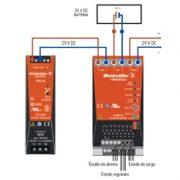Módulo UPS – Weidmüller Sistemas UPS 24 Vdc