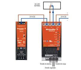 Módulo UPS – Sistemas UPS 24 Vdc Weidmüller
