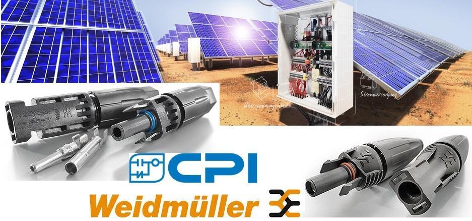 Conectores Fotovoltaicos Weidmüller