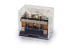 Relés auxiliares de alta corriente LY - Omron