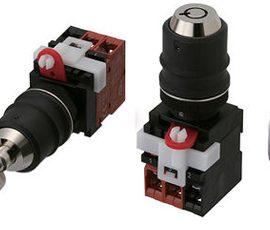 A22TK – Interruptores de seguridad – Interruptor selector Omron
