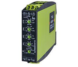 G2PM400 – Monitor Trifásico de Tensión, Secuencia y Asimetría Tele Haase