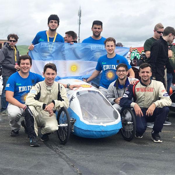 Gran orgullo!!! Equipo argentino entre los 5 mejores en competencia de eficiencia energética