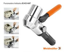 Punzonadora hidraulica IE-KO-HAT - Weidmüller