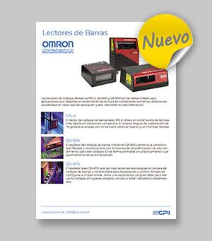 Lectores de Codigo de Barras - Omron Microscan
